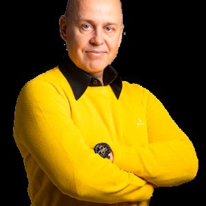 Savon Aallot juontaja ja päätoimittaja Mika Aro