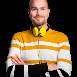 Savon Aallot juontaja Sami Turunen